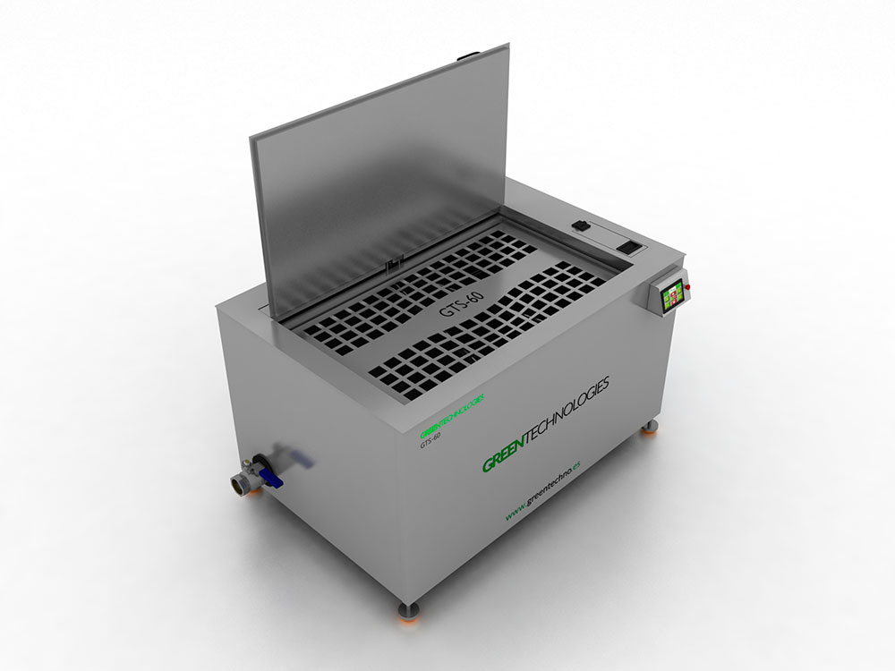 Lavadora por ultrasonidos 600 litros