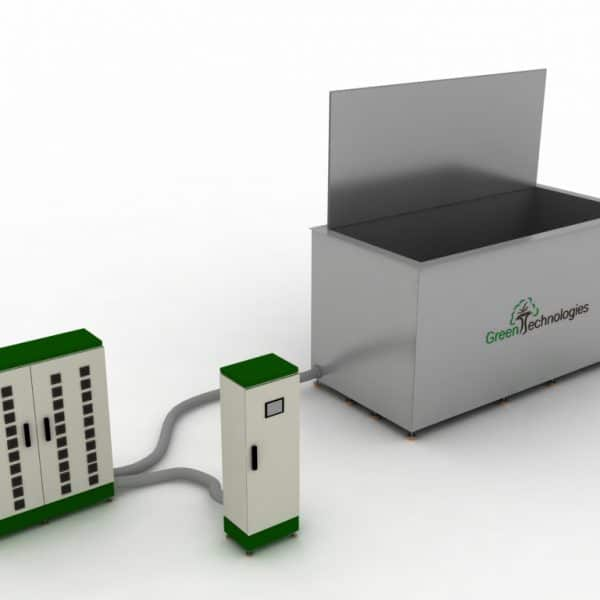 Máquina limpieza ultrasónica 4000 litros
