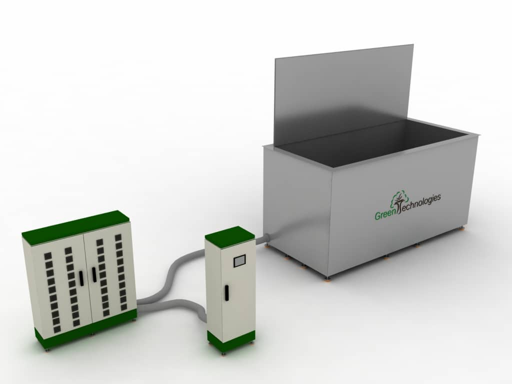 Máquina limpieza ultrasónica 4000 litros GTM-400
