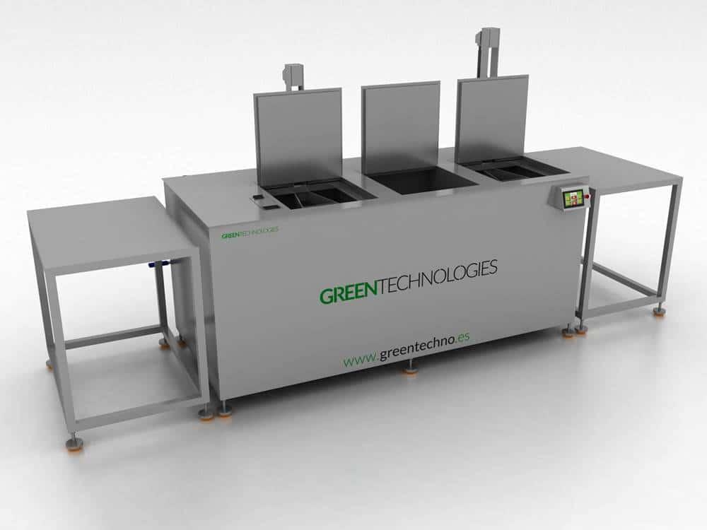 Diseño de máquina de limpieza por ultrasonidos Greentechno 1