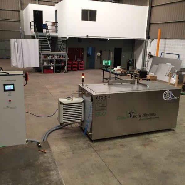 Máquina de limpieza por ultrasonidos industrial 1500 litros