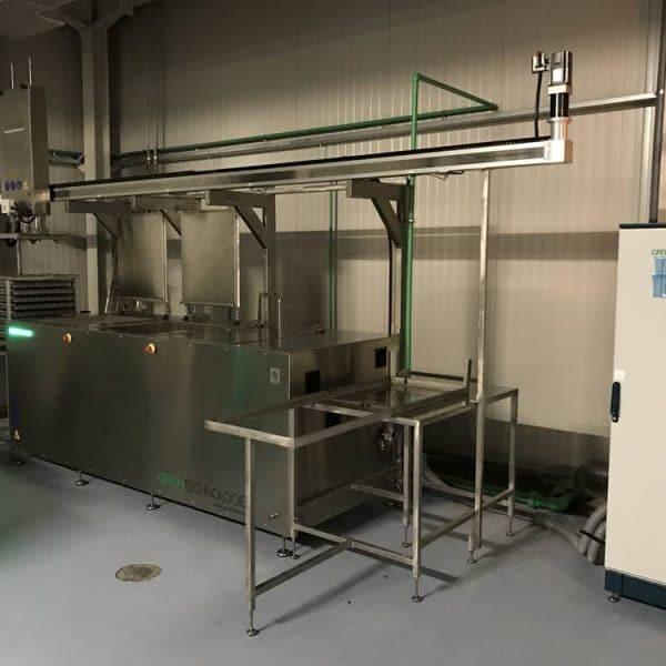 Máquina de limpieza por ultrasonidos industrial