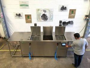 Lavado ultrasónico industrial Greentechno