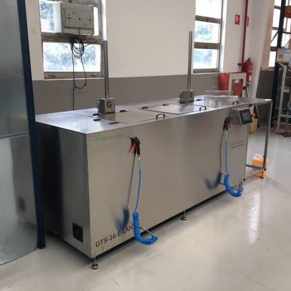 Lavado ultrasónico industrial Greentechno GTS-16