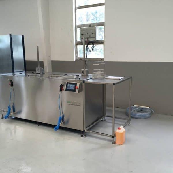 Lavado por ultrasonido industrial Greentechno GTS-16