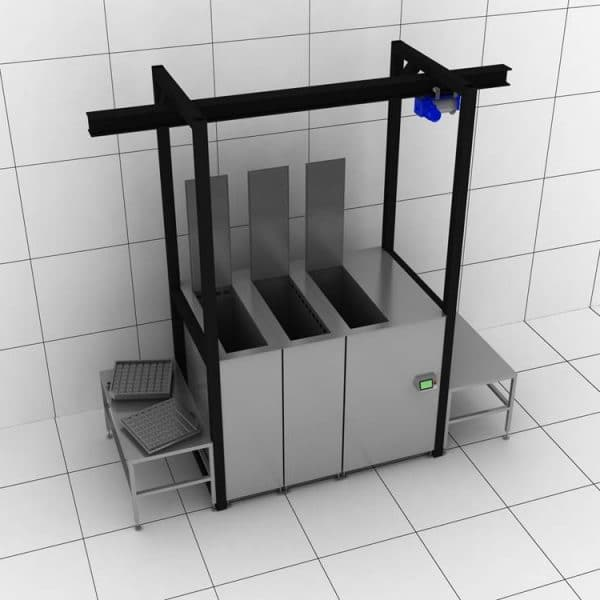 Máquina de limpieza por ultrasonidos a medida 1