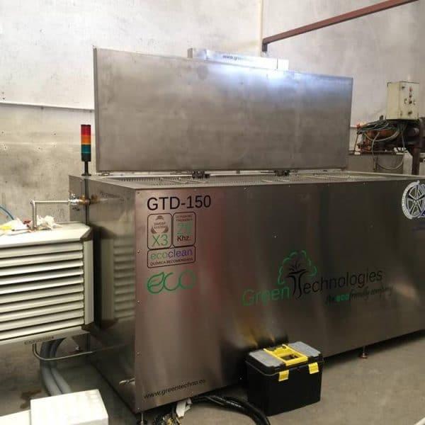 Limpieza industrial ecológica Greentechno GTD-150