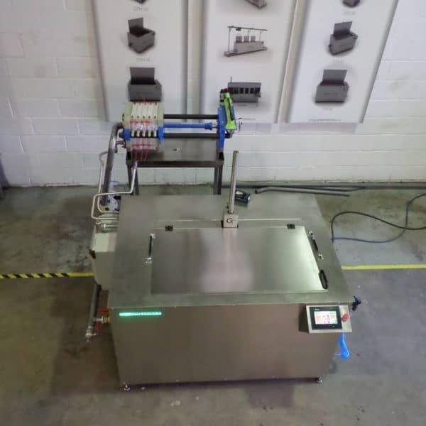 Instalación de máquina de limpieza ultrasónica