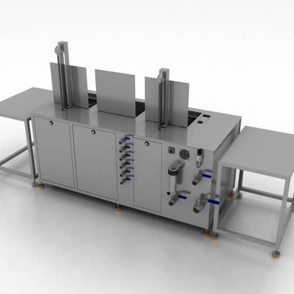 Diseño de máquina de limpieza por ultrasonidos Greentechno a medida
