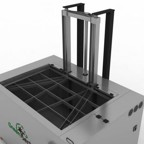 Diseño de lavadora por ultrasonidos Greentechno