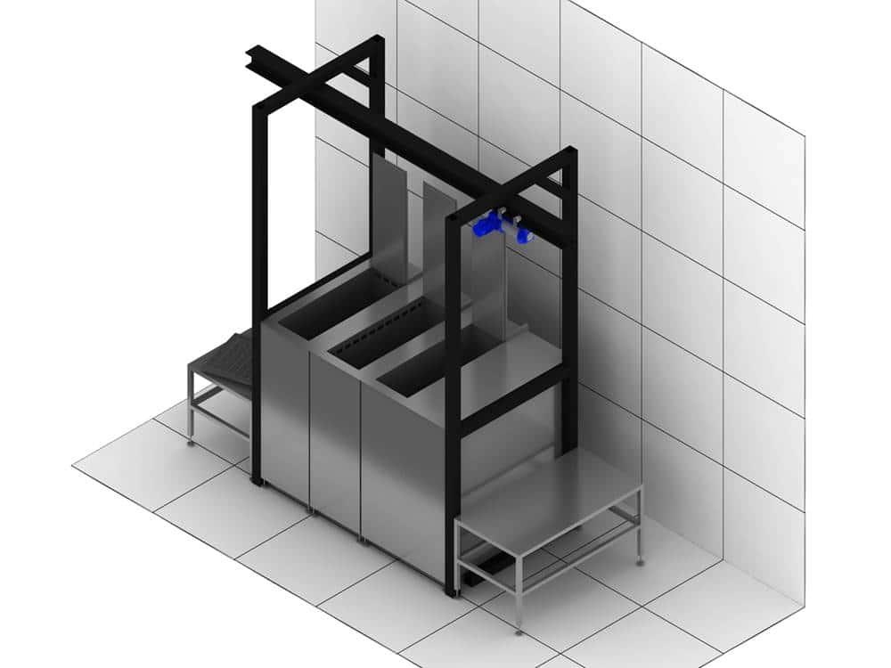Máquina de limpieza por ultrasonidos a medida 2