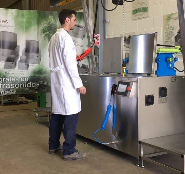 Limpieza por ultrasonidos Greentechno