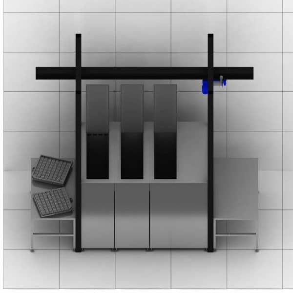 Máquina de limpieza por ultrasonidos Greentechno a medida