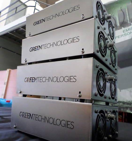 Máquina de limpieza por ultrasonidos Greentechno Cantabria