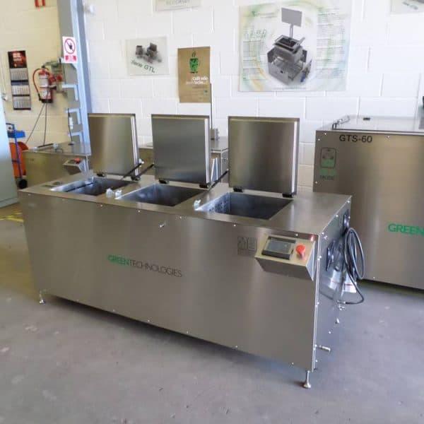 Cubetas de limpieza por ultrasonidos Greentechno