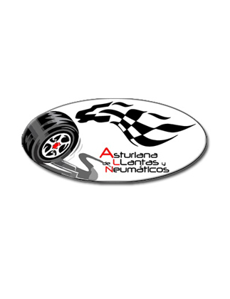 Logotipo ASTURIANA DE LLANTAS
