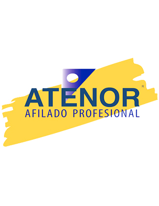 Logo afilado profesional ATENOR