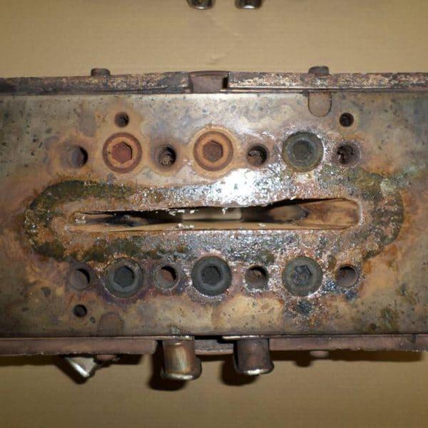 Limpieza por ultrasonidos de moldes de inyección Greentechno 1