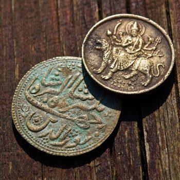 lavado por ultrasonidos de monedas antiguas