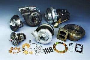Limpieza de piezas para reparación de turbos