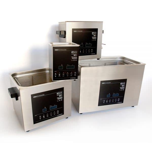 Máquinas de limpieza por ultrasonidos Greentechno GTBasic