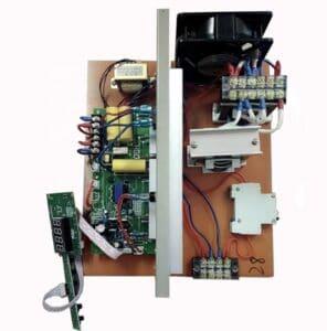 componentes generador de ultrasonidos